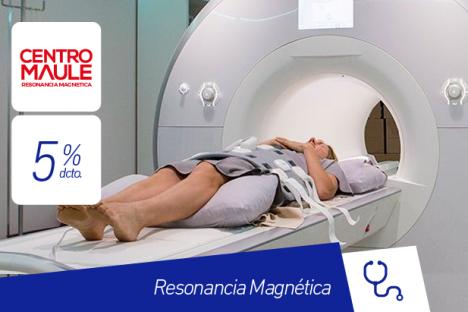 Centro Maule |Resonancia Magnética |5% dcto.
