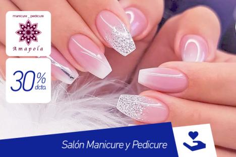 Amapola |Manicure y Pedicure |30% dcto.