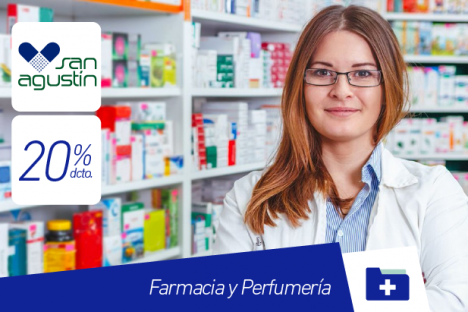 San Agustín |Farmacia y Perfumería |20% dcto.